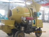Auto Walking Concrete Mixer e Pump