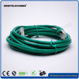 Исправление в сети по протоколу FTP CAT6 витого медного кабеля питания с 30 золотым покрытием разъемы