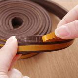 I adesivo em forma de tiras de vedação de espuma de borracha EPDM para portas de madeira