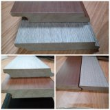 PVC Grain Pattern를 가진 Ck MDF Skirting Baseboard Covered