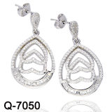2016 Nieuwe Juwelen 925 van de Manier Echte Zilveren Oorring