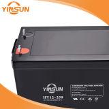 Gedichtete Leitungskabel-saure nachladbare Batterie 12V 250ah für Sonnensystem