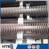 Ahorrador espiral componente del tubo aletado del cambiador de calor de la caldera