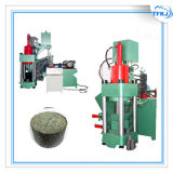 A imprensa Y83-6300 lasca a máquina de alumínio do carvão amassado da sucata