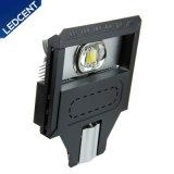 lâmpada de rua ao ar livre do diodo emissor de luz 30W~60W com microplaquetas de Bridgelux