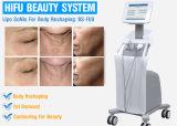 Elevador da pele da face da máquina de Hifu Ultherapy