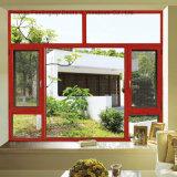 Segurança superior da janela de alumínio com vidro duplo (FT-W135)