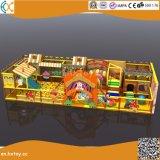 柔らかい運動場装置の屋内いたずらな城の子供のゲーム