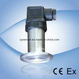 Capteur de pression piézoélectrique à plat / capteur sanitaire