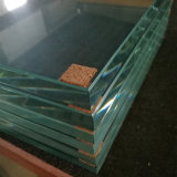 10mm tamanho Jumbo Low-Iron Vidro de segurança temperado