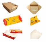 白いボール紙は1214年を停止させる打抜き機に必要性に食糧ボックスを取り除く