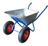 Инструменты сада вагонетки покупкы ручной тележки складывая курган колеса тачки тележки