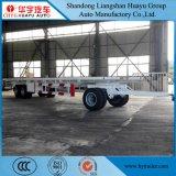 3 Staak die van het Ontwerp van de as de Speciale de Aanhangwagen van het Vervoer van de Lading met de Staaf van de Trekkracht trekken