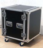 Профессиональный ди-джей, для монтажа в стойку Транспортировочный кейс, для полетов, алюминиевый корпус