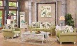 現代様式の居間のソファー