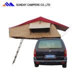Tende della parte superiore del tetto dell'automobile per accamparsi