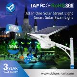 Luz de calle solar de la lámpara LED de la alta calidad elegante