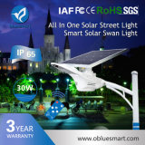 Smart de alta qualidade LED de Luz Solar Luz de Rua