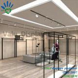 Einzelhandelsgeschäft-Wand-kleidet hängende Metalleisen-Kleid-Zahnstange Regal-Ausstellungsstand