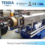 Máquina plástica de fabricación de la protuberancia de la hoja del tornillo doble