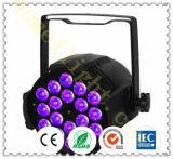 4in1 het Licht van Parcan van de Hoge Macht van de volledig-Kleur 18PCS*10W RGBW
