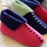 새로운 숙녀는 형식 작풍 니트 도착한다 Indoor Winter Boots