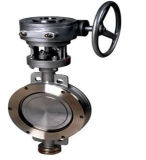 Alloy Aluminum Body Cryogenic Doubles Offset Wafer Stainless Steel Alloy Butterfly Valve