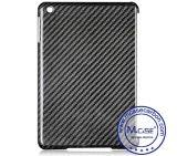Black 100% fibre de carbone réel Housse pour iPad Mini 3