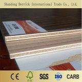 El contrachapado de melamina de 12mm para la fabricación de muebles de madera