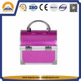 Reizender kosmetischer Aluminiumfall mit Spiegel (HB-2045)