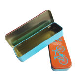 Heded Metal Gift Tin Box Atacado Kids Gift with Embossing Printing