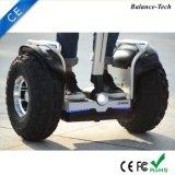 Auto elettrico astuto delle rotelle fuori strada personali del veicolo 2 che equilibra il motorino elettrico astuto di controllo del piedino di Scoote