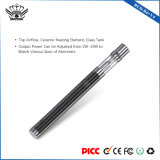 2-10 Rango de potencia de 290mAh bobinas ajustables de cerámica de vidrio Tank cigarrillo electrónico Vape Mod.