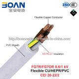 Fg7r/Fg7or, Rubber Cable, 0.6/1 Kv, Flexible Cu/Hepr/PVC (CEI 20-22/2)