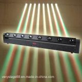 8PC 10W LED Etapa Disco Light Beam Bar