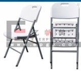 PlastikOffice Chair, White Foldable Office Chair für Staff, Lightweight Office Chair