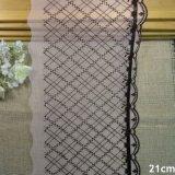 tessile all'ingrosso di guarnizione degli accessori dell'indumento del tessuto del merletto del filato del ricamo di 20cm