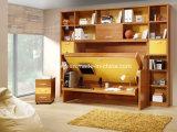 Высокое качество индивидуальные спальни мебель деревянная кровать Мерфи