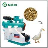 Las aves de corral horizontales introducen la máquina de la pelotilla para el ganso