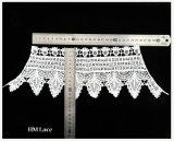 100%年の綿の水溶性の刺繍されたネクタイのかぎ針編みのレースカラーパターンX052