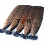 30 cores desenhadas Natural Ponta plana para cabelo Chinês Extensão de cabelo humano