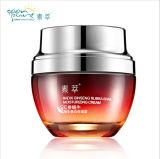 Il trattamento rosso di cura del fronte della crema della lumaca del Ginseng di cura di pelle riduce i Pimples dell'acne delle cicatrici che idratano imbiancando la crema