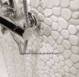 Guijarro blanco del color los 30X30cm del azulejo blanco de China