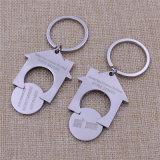 2016 Custom Cheapest Promoção Trolley Moeda Holder Metal Keychain Chaveiro