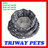Hohe Quaulity preiswerte Hundekatze-Betten (WY161075-5A/C)