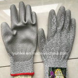 С покрытием из латекса Cut-Resistant Anti-Abrasion безопасности рабочие перчатки