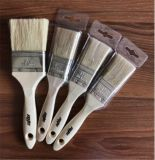""""""" щетинка щетки краски 2 100% чисто белая с деревянной ручкой"""