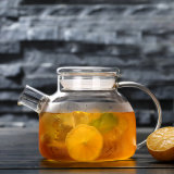 Resistencia térmica European-Style tetera de vidrio jarra de agua de cristal Tetera