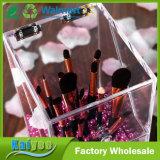 Organisateur acrylique de la meilleure qualité de renivellement de support de balai de qualité avec les perles attrayantes libres 5mm