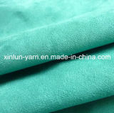 Polyeseter Leather Suede Upholstery Fabric for Garment / Sofa